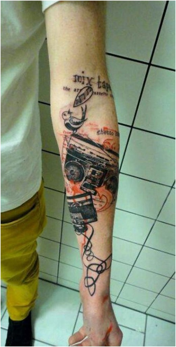 125 Amazing Music Tattoos Every Tat Lover Need To Know