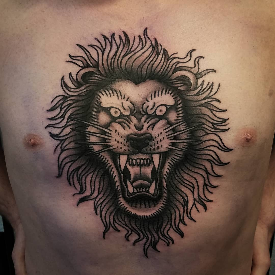 155 Attractive Lion Tattoo Design Ideas That Are Majestic And Powerful
