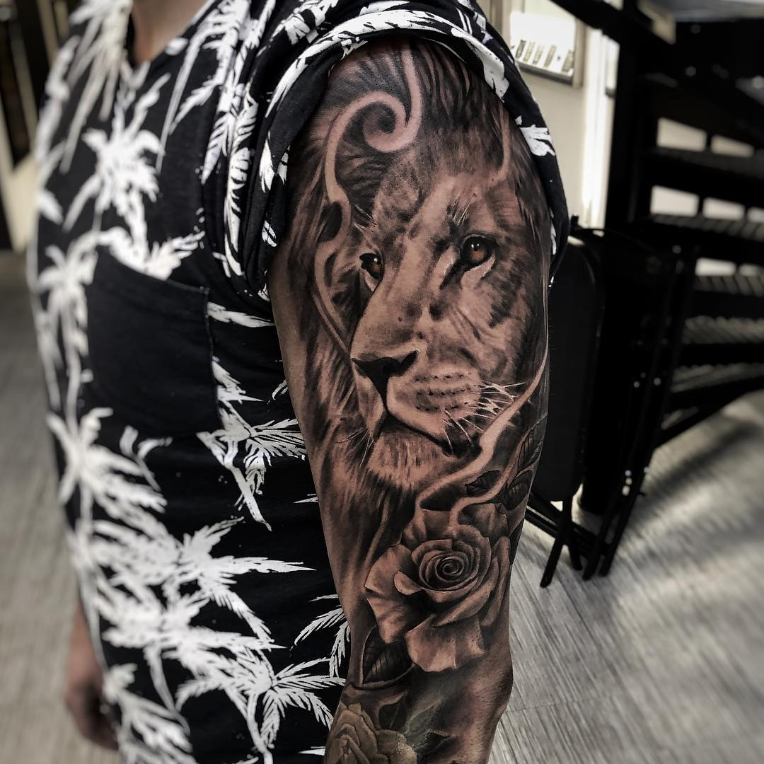 155 Attractive Lion Tattoo Design Ideas That Are Majestic