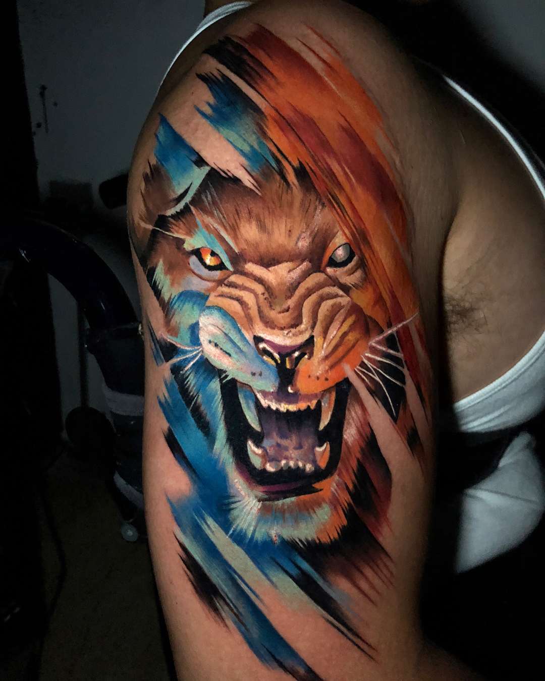 26a107e62d0db 155 Attractive Lion Tattoo Design Ideas That Are Majestic And Powerful