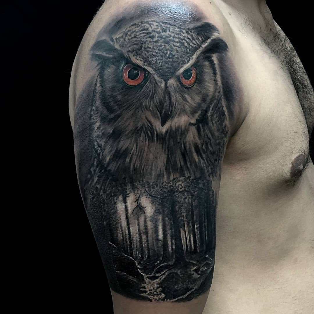 Top 147 Best Owl Tattoos Ideas for You to Get Inspired