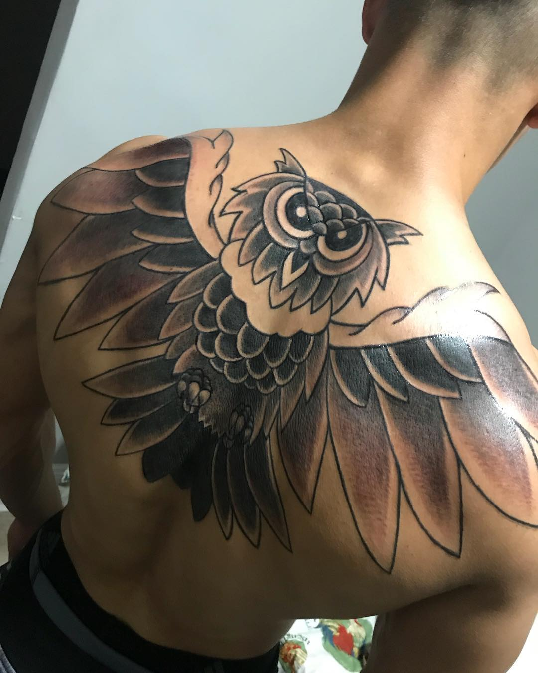 8ed65a737e0f5 Top 147 Best Owl Tattoos Ideas for You to Get Inspired