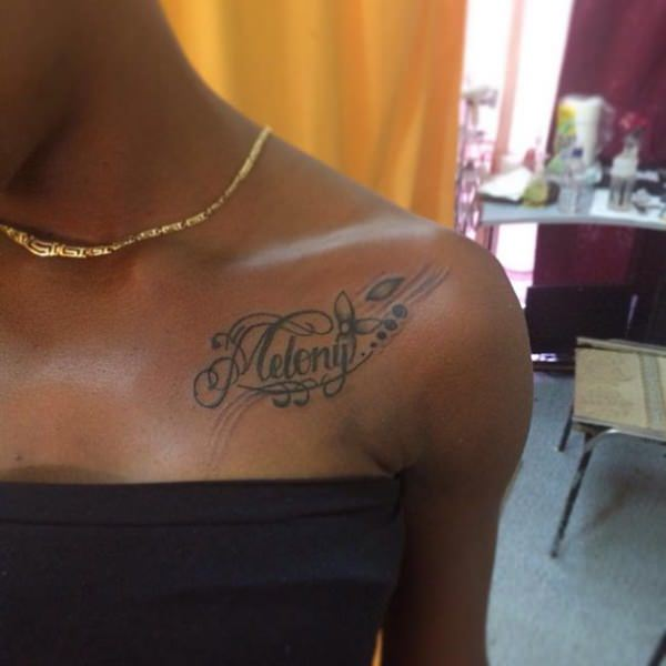 74 Magnificent Name Tattoo Ideas That Matches Your