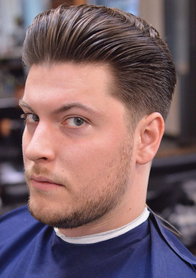 100+ Outstanding Slick Back Hair Ideas For Men   All Ages